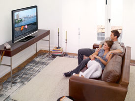 watching tv at home. watch tv abroad watching tv at home s